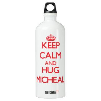 Keep Calm and HUG Micheal SIGG Traveler 1.0L Water Bottle
