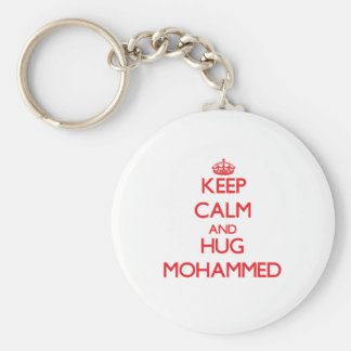 Keep Calm and HUG Mohammed Key Chains