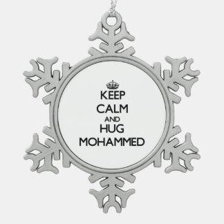 Keep Calm and Hug Mohammed Ornament