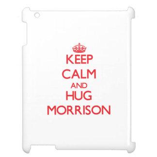 Keep calm and Hug Morrison iPad Covers