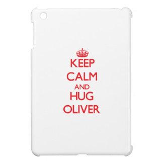 Keep calm and Hug Oliver Case For The iPad Mini