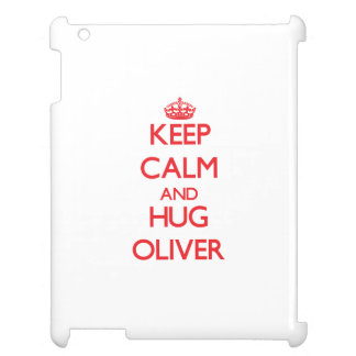 Keep calm and Hug Oliver Cover For The iPad 2 3 4
