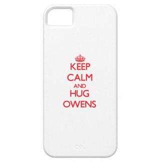 Keep calm and Hug Owens iPhone 5 Cover