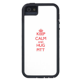 Keep calm and Hug Pitt Cover For iPhone 5/5S
