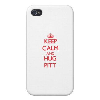 Keep calm and Hug Pitt iPhone 4/4S Covers