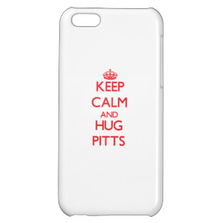 Keep calm and Hug Pitts iPhone 5C Cover
