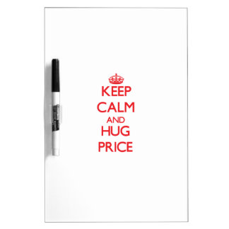 Keep calm and Hug Price Dry-Erase Boards
