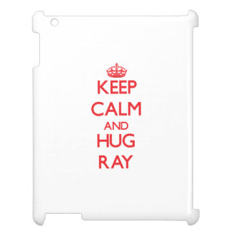 Keep calm and Hug Ray Case For The iPad