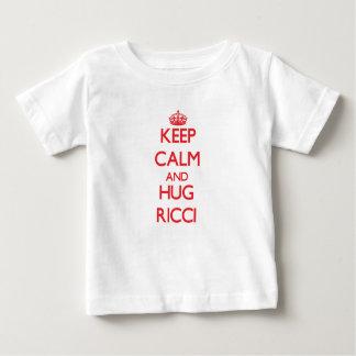 Keep calm and Hug Ricci T Shirt