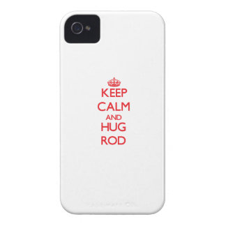 Keep Calm and HUG Rod iPhone 4 Case-Mate Case