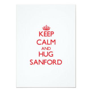 Keep Calm and HUG Sanford Announcement