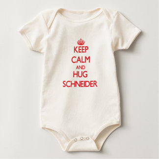 Keep calm and Hug Schneider Rompers