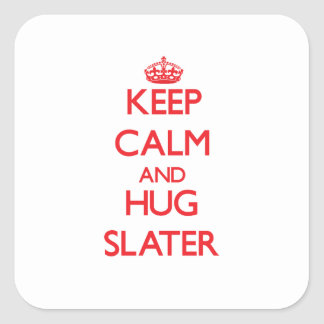 Keep calm and Hug Slater Sticker