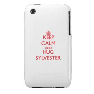 Keep Calm and HUG Sylvester iPhone 3 Case