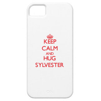 Keep Calm and HUG Sylvester iPhone 5 Case