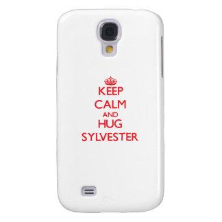 Keep Calm and HUG Sylvester Samsung Galaxy S4 Cover