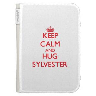 Keep Calm and HUG Sylvester Kindle Folio Cases