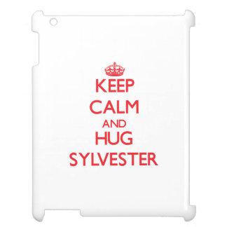 Keep Calm and HUG Sylvester iPad Covers