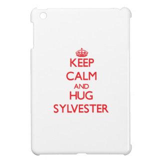 Keep Calm and HUG Sylvester iPad Mini Cases