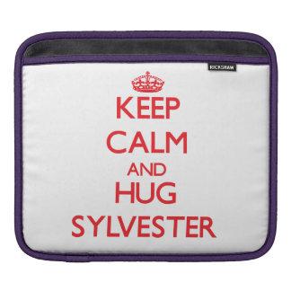 Keep Calm and HUG Sylvester iPad Sleeves