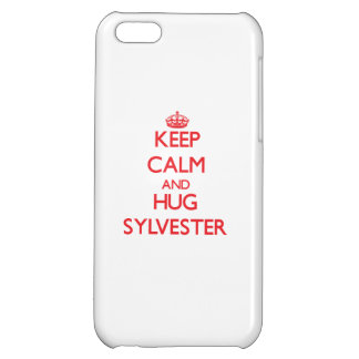 Keep Calm and HUG Sylvester Case For iPhone 5C