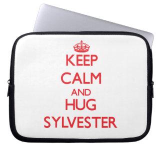 Keep Calm and HUG Sylvester Computer Sleeve