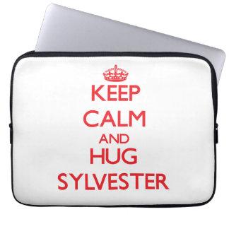 Keep Calm and HUG Sylvester Computer Sleeves