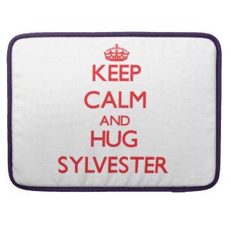 Keep Calm and HUG Sylvester Sleeve For MacBooks