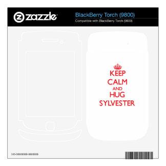 Keep Calm and HUG Sylvester Skin For BlackBerry