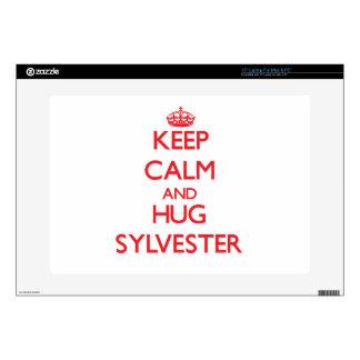 "Keep Calm and HUG Sylvester Skins For 15"" Laptops"