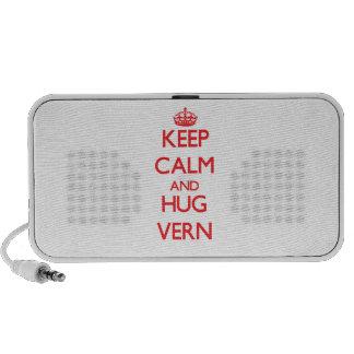 Keep Calm and HUG Vern Notebook Speakers