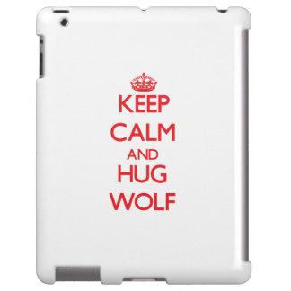 Keep calm and Hug Wolf