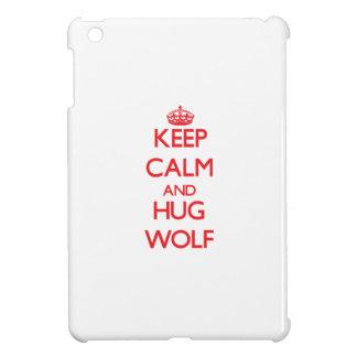 Keep calm and Hug Wolf iPad Mini Covers