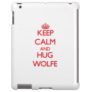 Keep calm and Hug Wolfe