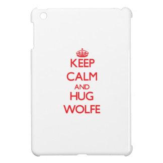 Keep calm and Hug Wolfe iPad Mini Covers