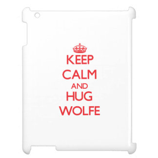 Keep calm and Hug Wolfe Cover For The iPad 2 3 4