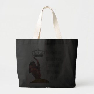 Keep Calm and Hula On Canvas Bag