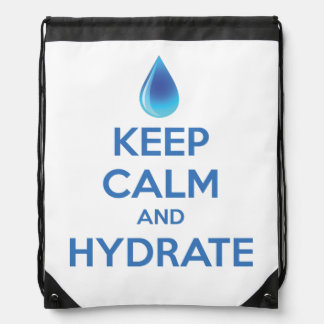 Keep Calm And Hydrate Backpack