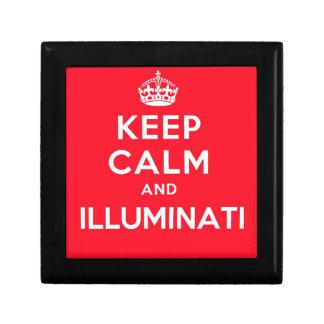 Keep Calm and Illuminati Jewelry Box