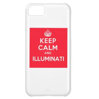 Keep Calm and Illuminati iPhone Case