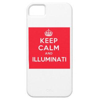 Keep Calm and Illuminati iPhone Case iPhone 5 Case
