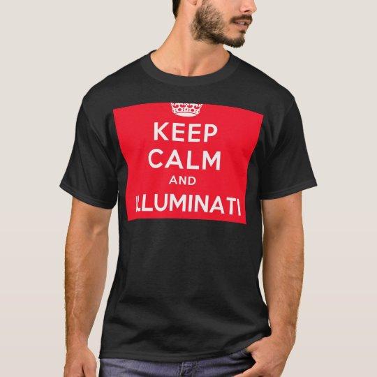 Keep Calm and Illuminati T-Shirt
