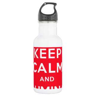 Keep Calm and Illuminati Water Bottle