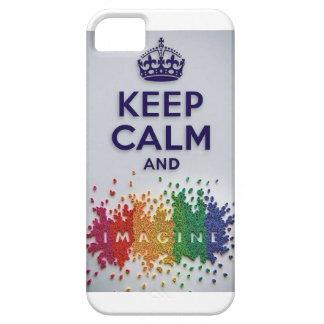 Keep Calm and Imagine IPhone Case