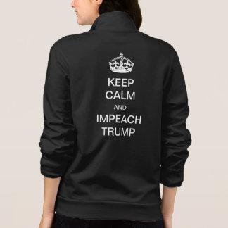 Keep Calm and Impeach Trump Jacket