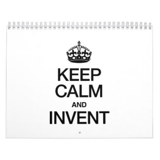 KEEP CALM AND INVENT CALENDARS