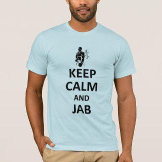 Keep calm and jab T-Shirt