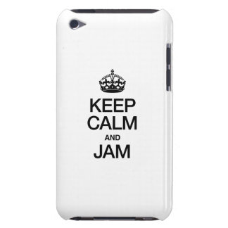 KEEP CALM AND JAM iPod Case-Mate CASES