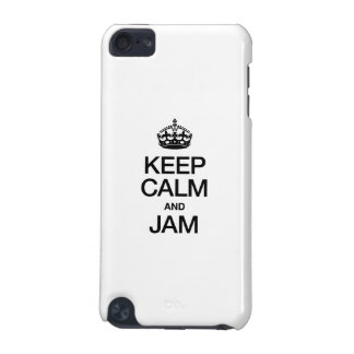 KEEP CALM AND JAM iPod TOUCH 5G COVER