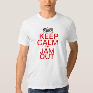 Keep Calm And : Jam Out Tee Shirt